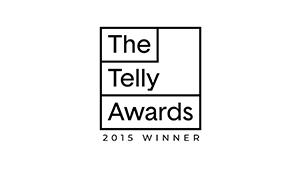 Telly Award Winner 2015 Emblem